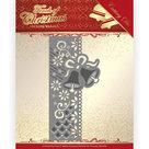PM10184 Dies - Precious Marieke - Touch of Christmas - Christmas Bells Border