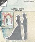 6002-1267 Joy!Crafts snijmal Wedding Couple