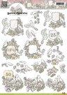 CD10211 3D Knipvel - Yvonne Creations - Jubileum duiven