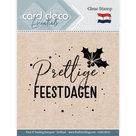 CDECS016 Card Deco Essentials clearstamps Pretige feestdagen