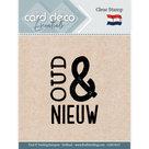CDECS017 Card Deco Essentials clearstamps Oud en nieuw