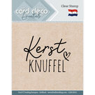 CDECS015 Card Deco Essentials clearstamps Kerstknuffel