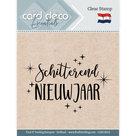 CDECS014 Card Deco Essentials clearstamps Schitterend Nieuwjaar