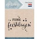 CDECS010 Card Deco Essentials clearstamps Fijne Feestdagen