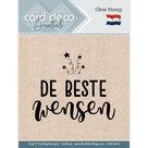 CDECS013 Card Deco Essentials clearstamps De Beste Wensen
