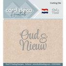 CDECD0042 Card Deco Essentials snijmal Oud en Nieuw