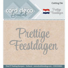 CDECD0041 Card Deco Essentials snijmal Prettige Feestdagen