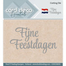 CDECD0035 Card Deco Essentials snijmal Fijne Feestdagen