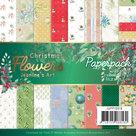 Paperpack - Jeanines Art Christmas Flowers JAPP10016