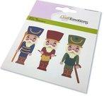 CraftEmotions Die - kerst - notenkraker soldaat  115633/0833