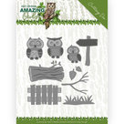 ADD10217 Dies - Amy Design - Amazing Owls - Owl Family