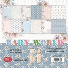 Craft&You Baby World small paper pad 6x6 36 vel CPB-BW15