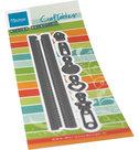 CR1528 Craftables - Long zipper