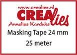 Crealies Basis Masking tape CLBSMT 24 mmx25 m