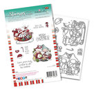 PD8098A Polkadoodles stamp Gnome Sleigh the Season