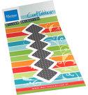 CR1532 Craftables Cross stitch border plaid