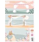AK0083 Knipvel Eline's wedding background