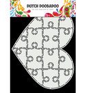 470.713.847 Dutch Doobadoo Card Art Puzzel hart
