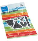 CR1541 Craftables snijmallen Garden Tools by marleenCR1541 Craftables snijmallen Garden Tools by marleen
