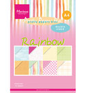PK9175 Pretty Papers Papier blok Rainbow