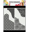 470.715.822  Dutch Doobadoo Mask Art Slimline Cracked Patterns