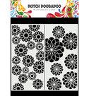 470.715.823 Dutch Doobadoo  Mask Art Slimline Flowers