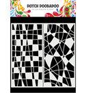 470.715.824 Dutch Doobadoo  Mask Art Slimline Mosiaic Line