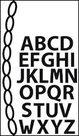 CR1281 Craftables snijmal mini alphabet