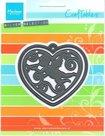 CR1283 Craftables snijmal Filigree Angel heart