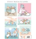 AK0085 knipvel Eline's babies & lambs