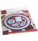LR0715 Creatables Biscuit doily