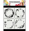 470.715.628 Dutch Mask Art Circle Grunge