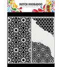 470.784.004 Dutch Mask Art Slimline Cracked Patterns