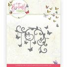 Dies - Jeanine's Art - Butterfly Touch - Butterfly Corner JAD10125