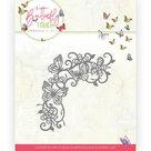 Dies - Jeanine's Art - Butterfly Touch - Swirls and Butterflies JAD10124