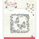 Dies - Jeanine's Art - Butterfly Touch - Butterfly Square JAD10122