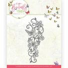 Dies - Jeanine's Art - Butterfly Touch - Butterfly Border JAD10121