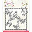 Dies - Jeanine's Art - Butterfly Touch - Butterfly Frame JAD10118