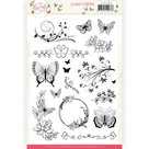 Clear Stamps - Jeanine's Art - Butterfly Touch JACS10036
