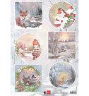 EWK1286 Knipvel Els Wezenbeek Winter wishes - Fox.jpg
