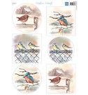 MB1097 knipvel Mattie's mooiste Birds in winter.jpg