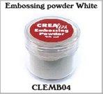 Crealies Embossing poeder Wit CLEMB04 20ml.jpg