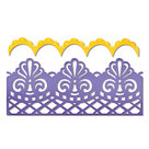 658945 Sizzix Thinlits Damask and Scallop Borders