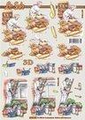 8215.207 3d knipvel bakker - schilder