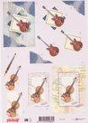 Pickup052 3D knipvel muziek