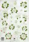 Tie2325 knipvel bloemen