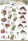 CD10381 3D Knipvel - Precious Marieke -Kerstkindjes