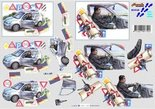 8215.143 - 3D knipvel Geslaagd rijbewijs Nouvelle