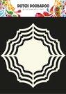470.713.101 Dutch Doobadoo Shape Art Frames Ornament Ruit