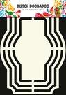 470.713.103  Dutch Doobadoo Shape Art ornament rechthoek nr 4
